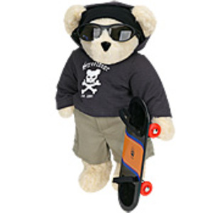 Skateboarder Bear