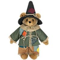Funny Scarecrow Teddy Bear
