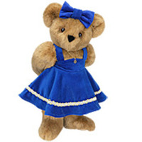 Chanukah Girl Bear