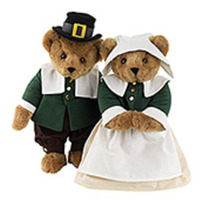 Pilgrim Teddy Bears