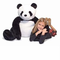Lovable Giant Plush Panda