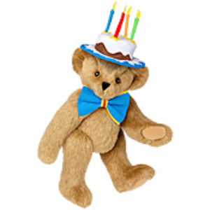 Birthday Cake Teddy Bear