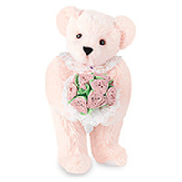 Rose Bouquet Teddy Bear