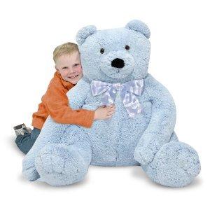 Doug - Blue Teddy Bear