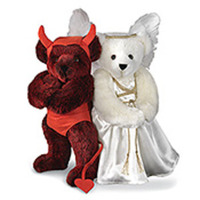 Angel & Devil Bears