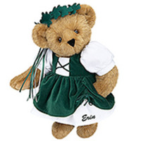 Shamrock Girl Bear