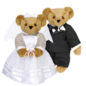 Groom & Bride Bears