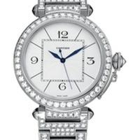 Lyxig damklocka från Cartier med diamanter