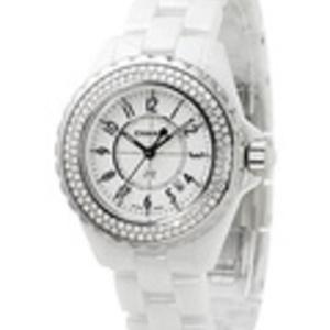 Extremt lyxig damklocka från Chanel med diamanter