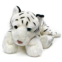 Bedårande, söt vit tiger