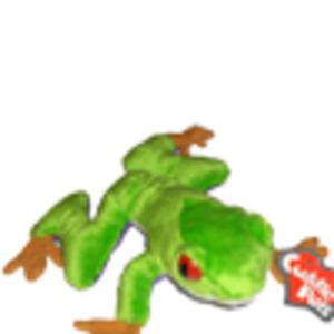 Grön groda-gosedjur
