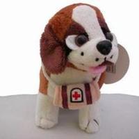 Liten Sankt Bernhards-hund