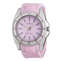 Crystal Accented Plastic Watch