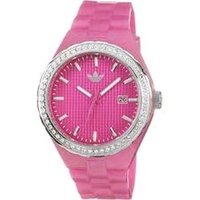 Cambridge 3-Hand Analog Pink Glitz Watch