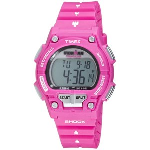 Case and Resin Strap Sports Watch