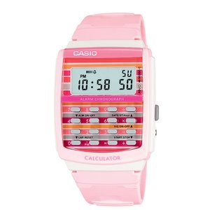 Womens 8-Digit Calculator Watch