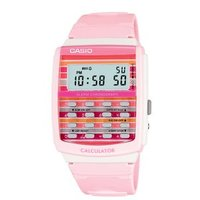 Womens 8-Digit Calculator Watch