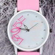 Quartz Teddy Bear Watch