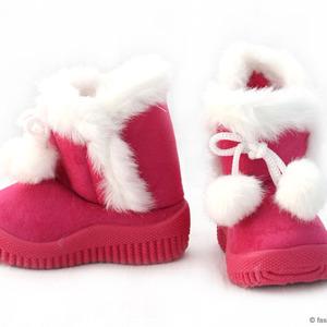Girl Pom Pom Boots