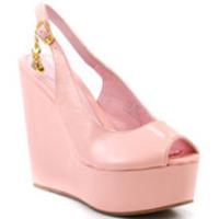Chunky Wedge Platform Sandal