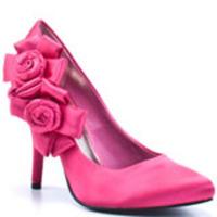 Roses Satin Pump