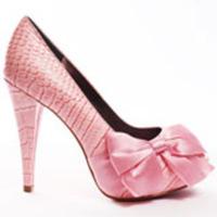 Croc Style Heel