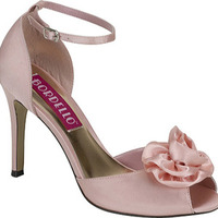 Satin Flower Pump