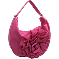 Floral Hobo Bag