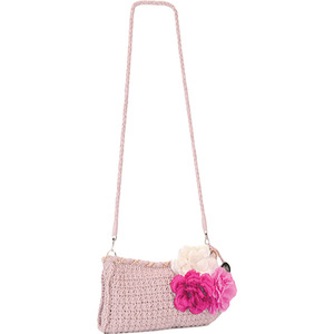 Rosa Crochet Clutch