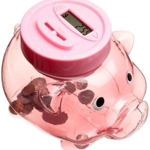 Piggy Coin-Counter Bank