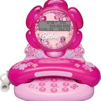 Barbie Telephone with Caller ID