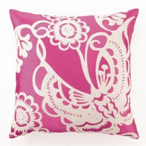 Butterfly design pillow