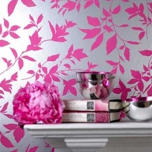 Leaf Design Wallcover