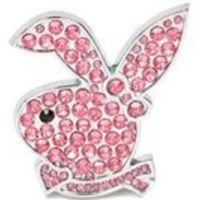 Söt kaninformad dekal