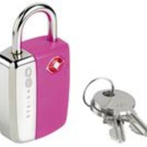 Utmärkande hänglås med nyckel