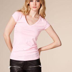 Lyxig v-ringad t-shirt (Panos)