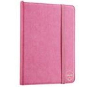 Rosa dokumentmapp med penna