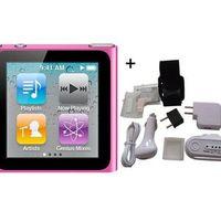 Apple iPod nano 8 GB rosa (6:e generationen) + 7 tillbehör