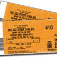 Konsertbiljetter till bröllopsparet