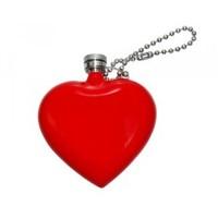 Fickplunta i form av ett rött hjärta