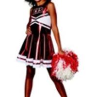 Vrålsöt cheerleader-outfit (barn)
