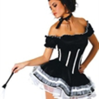 French maid-dräkt