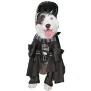 Officiell Darth Vader-dräkt för hunden