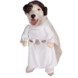 Officiell Prinsessan Leia-dräkt för hunden