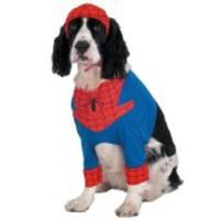Tuff, officiell Spindelmannen-dräkt för hunden