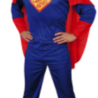 Blå superhjälte