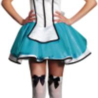 Klänning. Alice kort