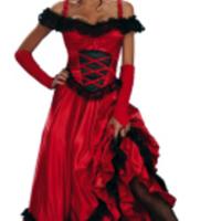 Sexig Vilda Västern-klänning