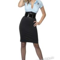 Sexig polisklänning