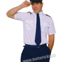 Stilig pilotdräkt för honom
